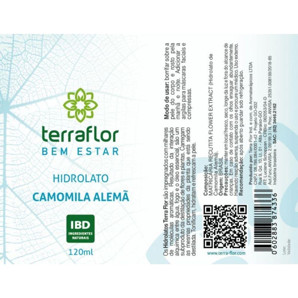 Terra Flor Hidrolato de Camomila Alemã 120ml