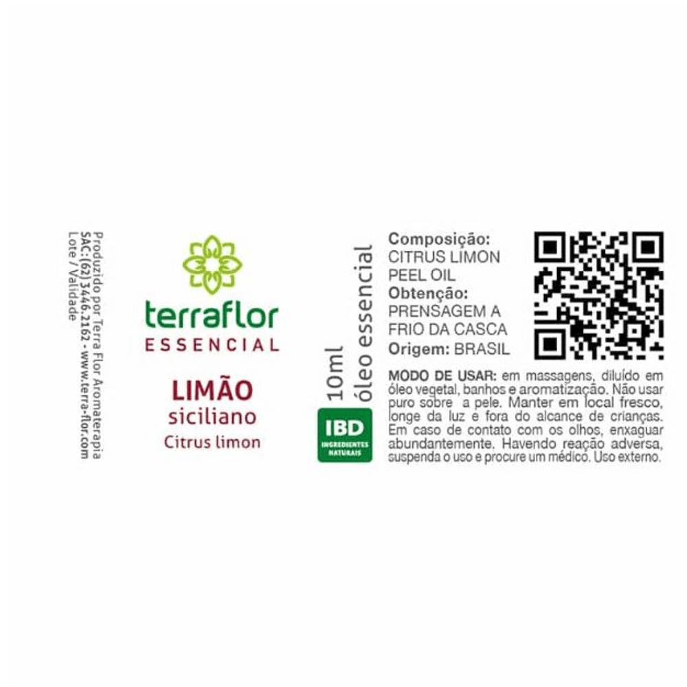 Terra Flor Kit Óleos Essenciais Para Imunidade