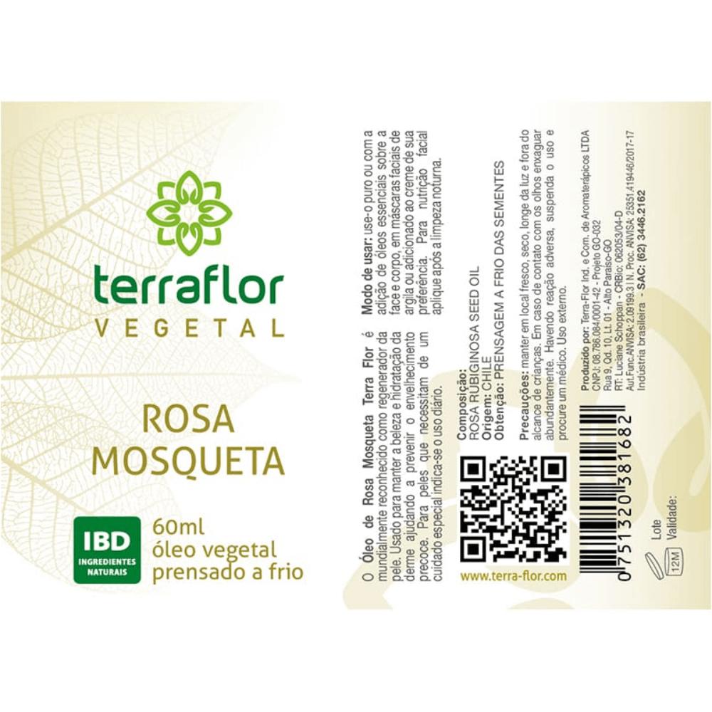 Terra Flor Óleo de Rosa Mosqueta 60ml