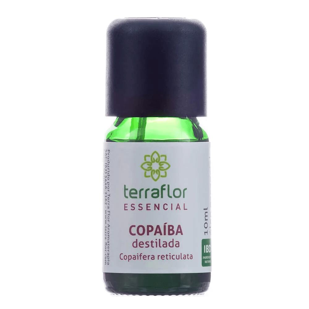 Terra Flor Óleo Essencial de Copaíba Destilada 10ml