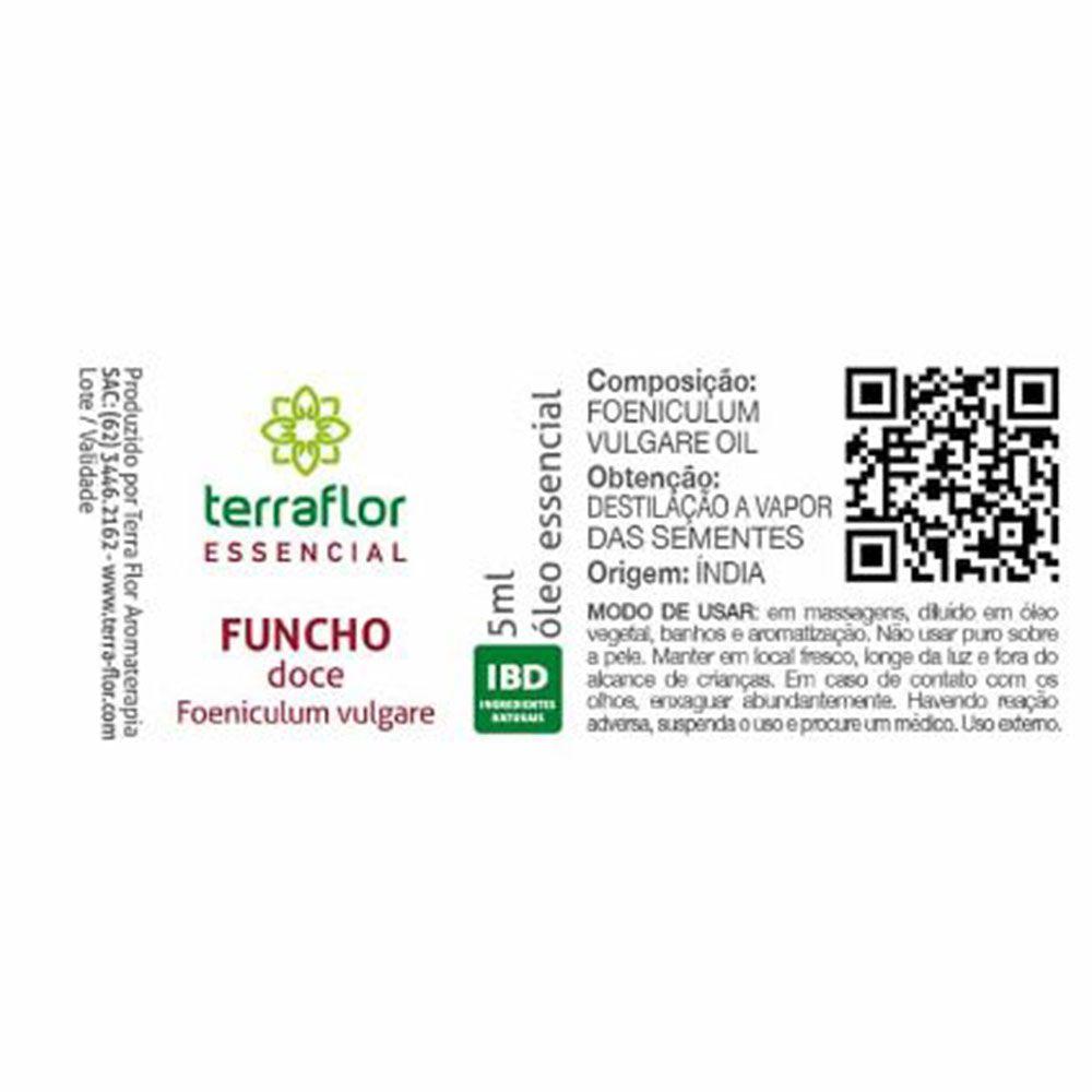Terra Flor Óleo Essencial de Funcho Doce 5ml