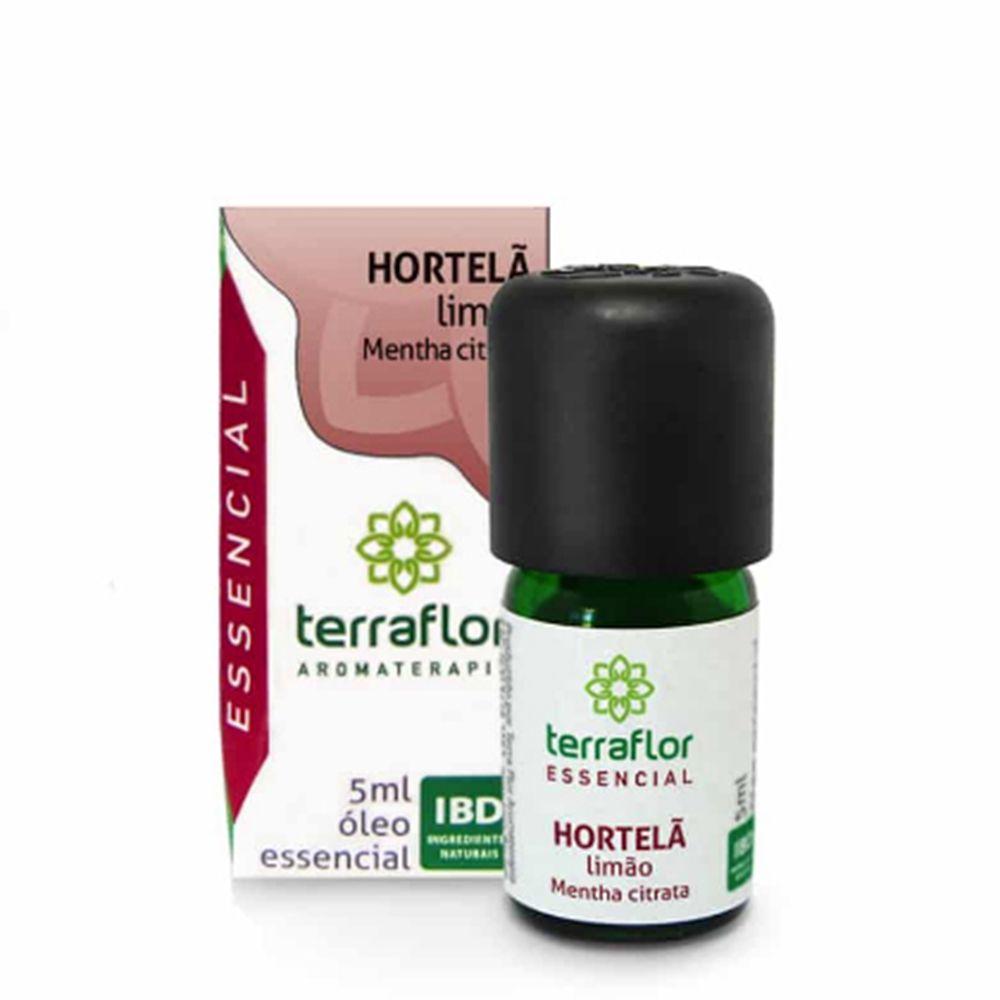 Terra Flor Óleo Essencial de Hortelã Limão (Hortelã Levante) 5ml