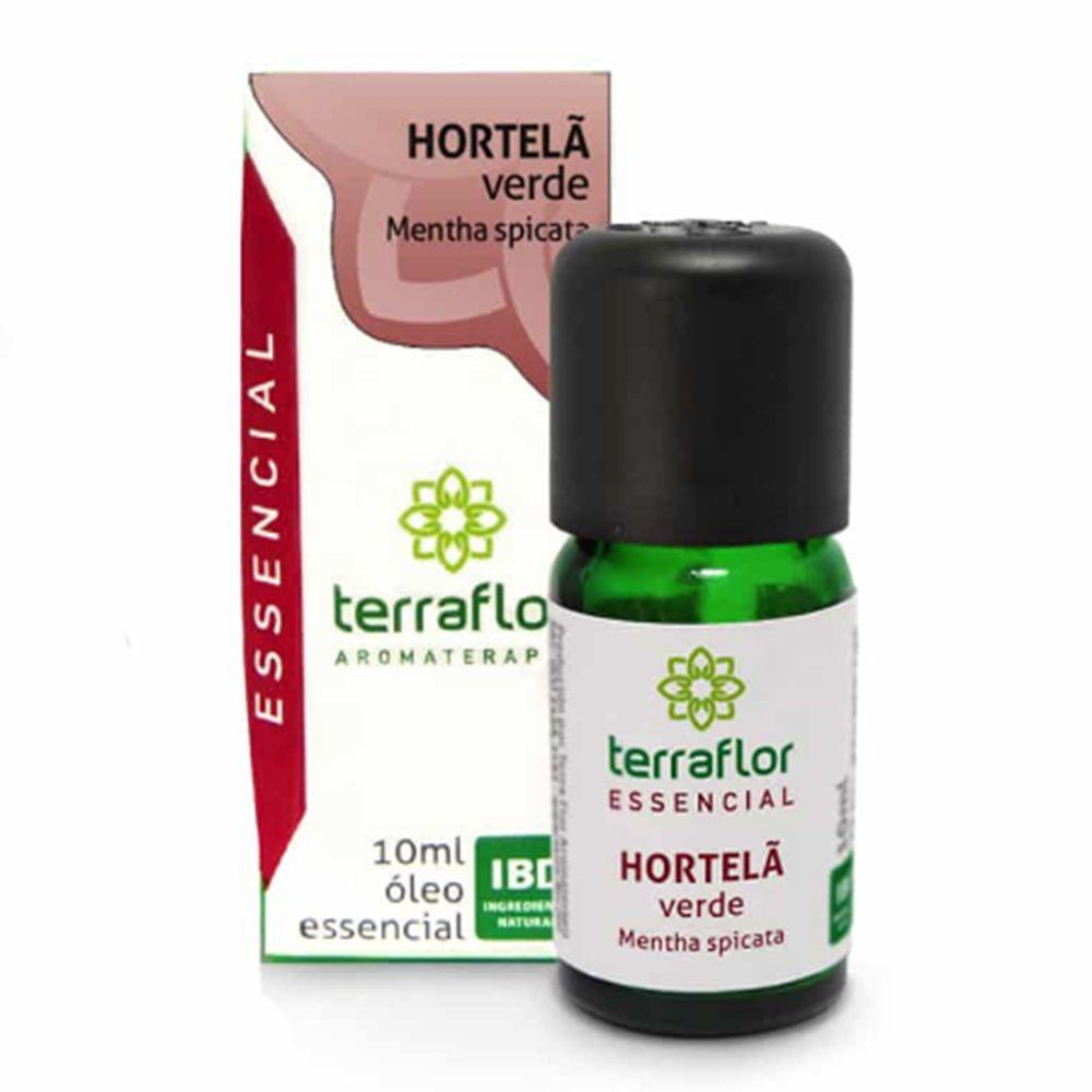 Terra Flor Óleo Essencial de Hortelã Verde 10ml