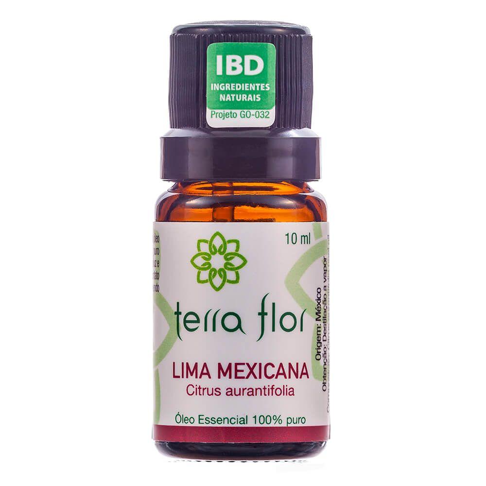 Terra Flor Óleo Essencial de Lima Mexicana Destilada 10ml