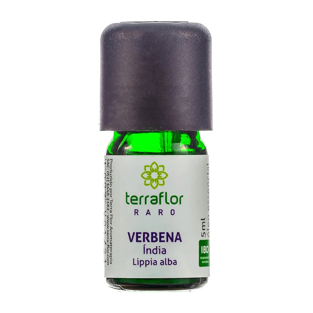 Terra Flor Óleo Essencial de Verbena Índia 5ml