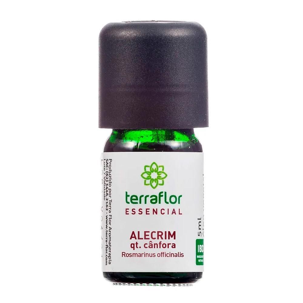 Terra Flor Óleo Essencial Natural de Alecrim QT. Cânfora 5ml