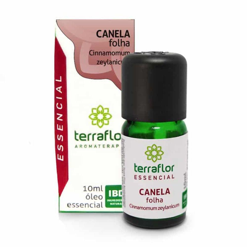 Terra Flor Óleo Essencial Natural de Canela Folha 10ml