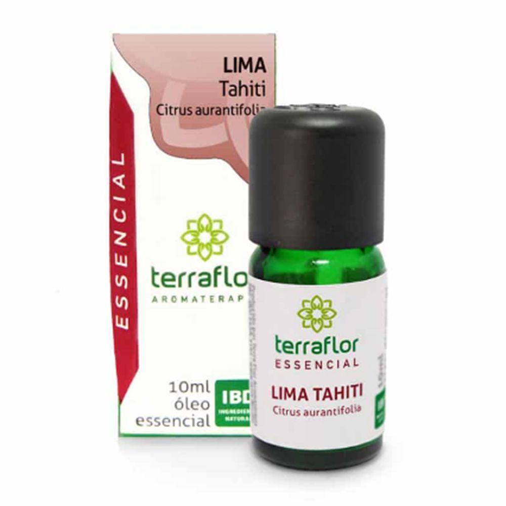 Terra Flor Óleo Essencial Natural de Lima Tahiti 10ml