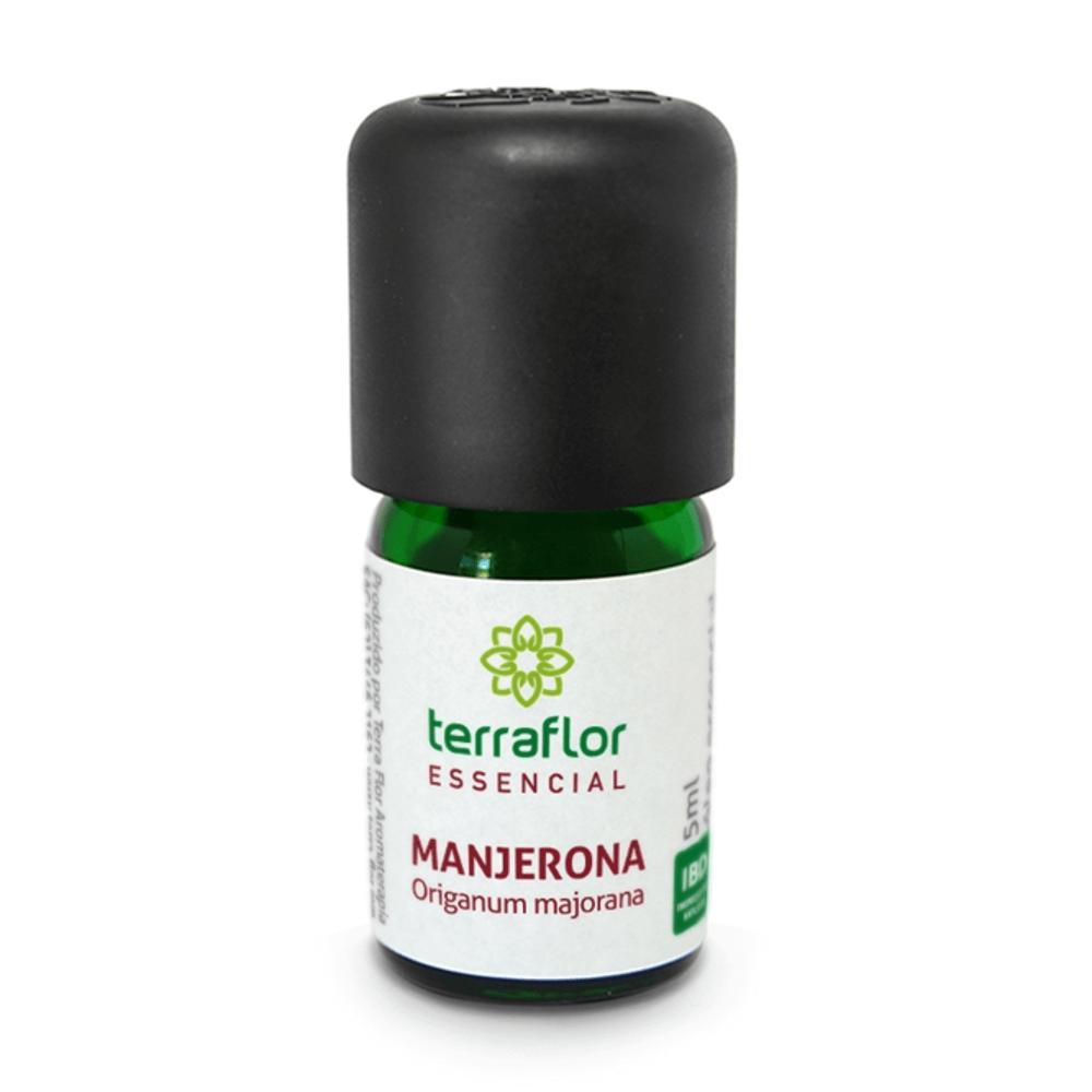 Terra Flor Óleo Essencial Natural de Manjerona 5ml