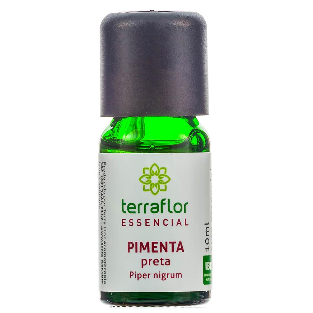 Terra Flor Óleo Essencial Natural de Pimenta Preta 10ml