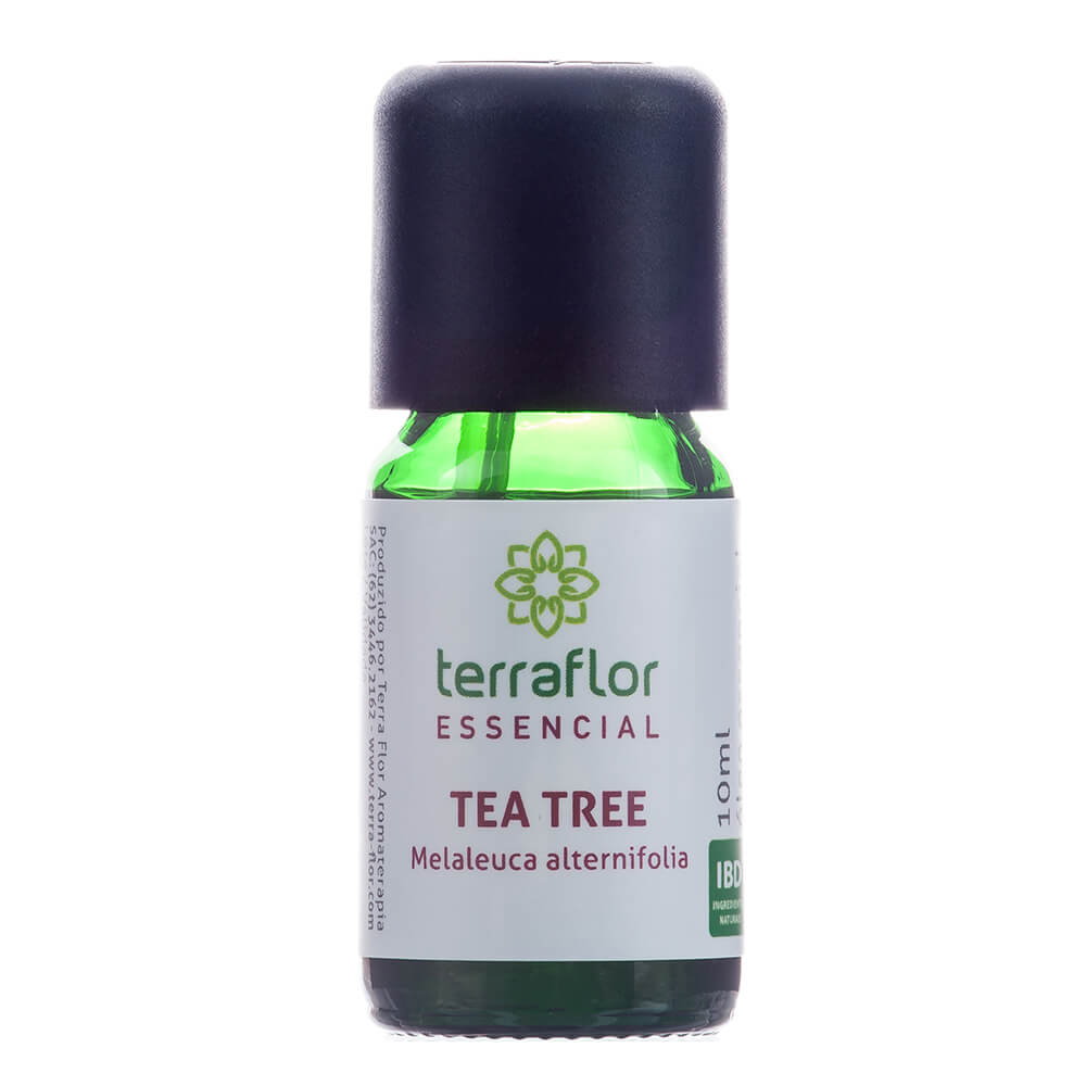 Terra Flor Óleo Essencial Natural de Tea Tree (Melaleuca) 10ml