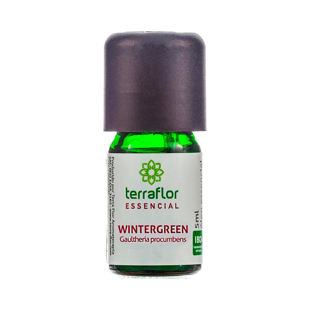 Terra Flor Óleo Essencial Natural de Wintergreen 5ml