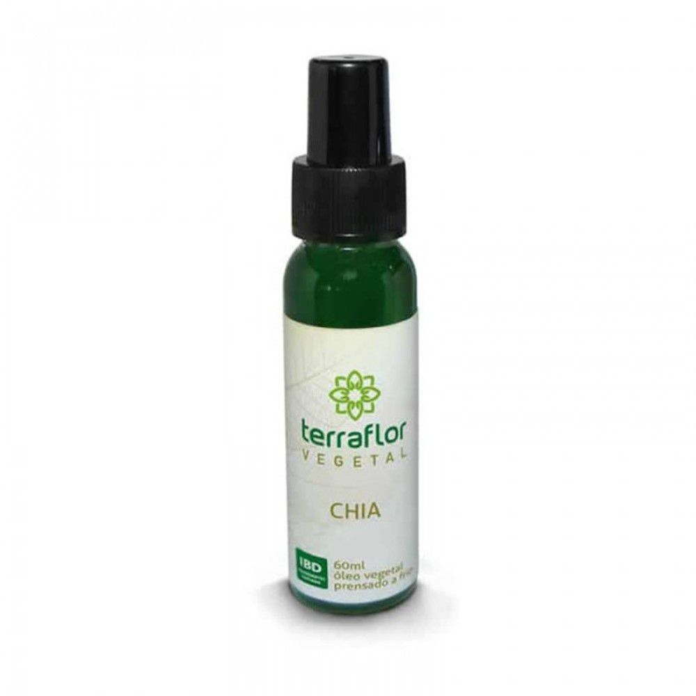 Terra Flor Óleo Vegetal Natural de Chia 60ml