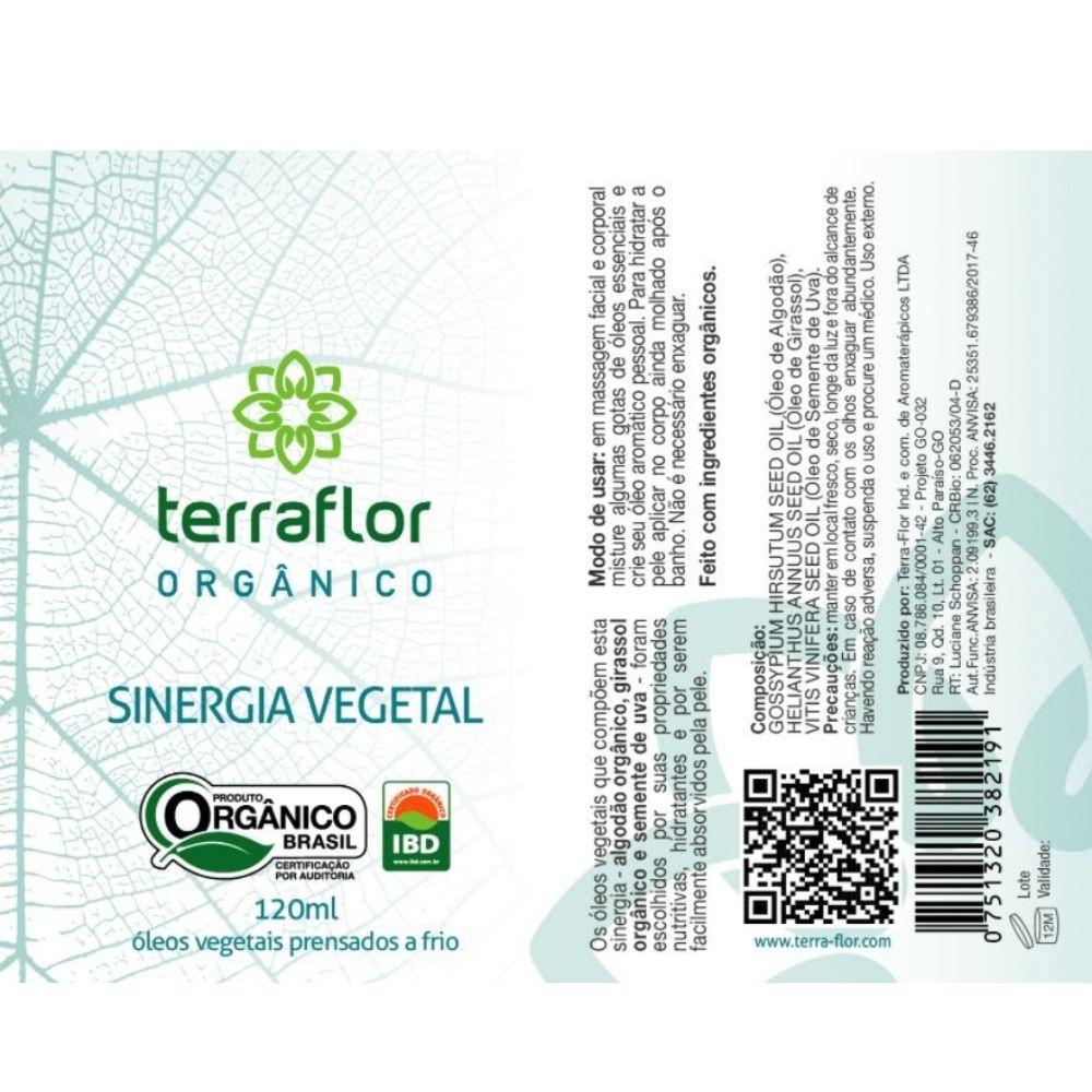 Terra Flor Sinergia Vegetal Orgânica 120ml