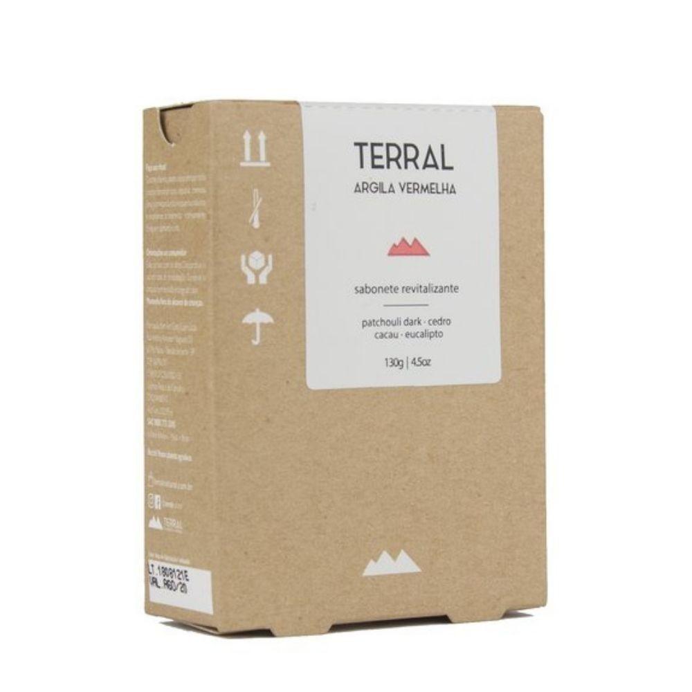 Terral Sabonete de Argila Vermelha para Peles Maduras 130g