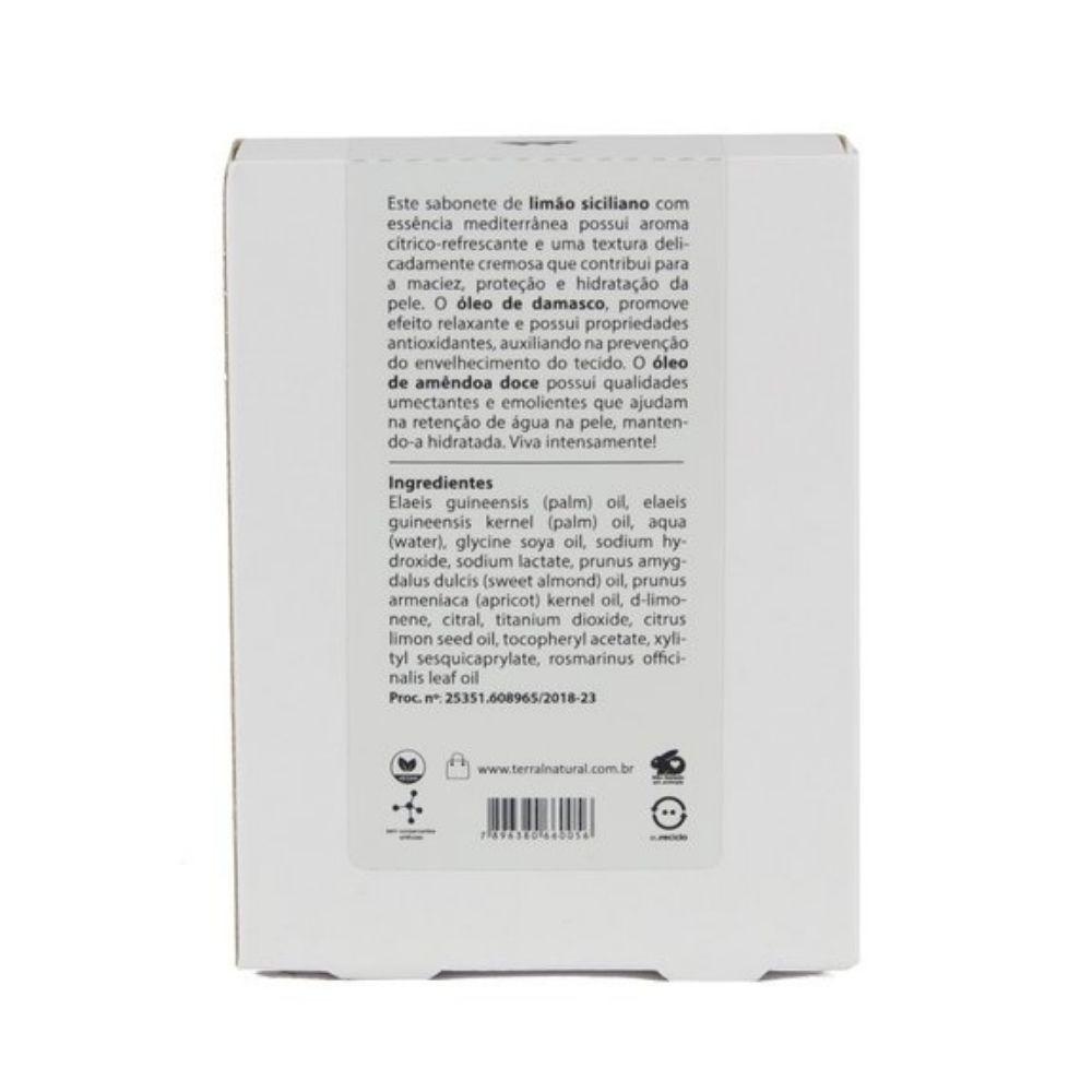 Terral Sabonete de Limão Siciliano para Peles Sensíveis 125g