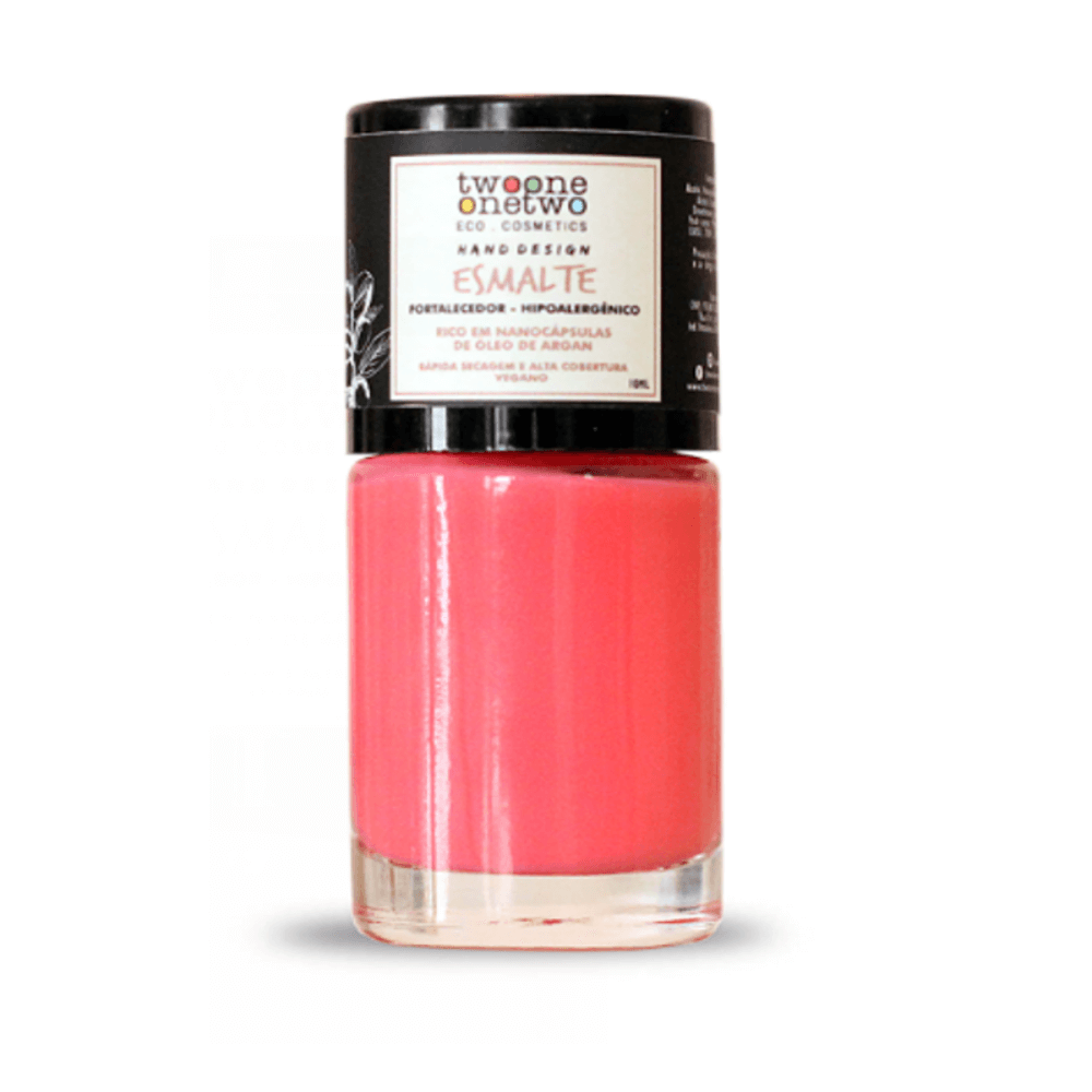 Twoone Onetwo Esmalte Hipoalergênico Peach Pink 10ml