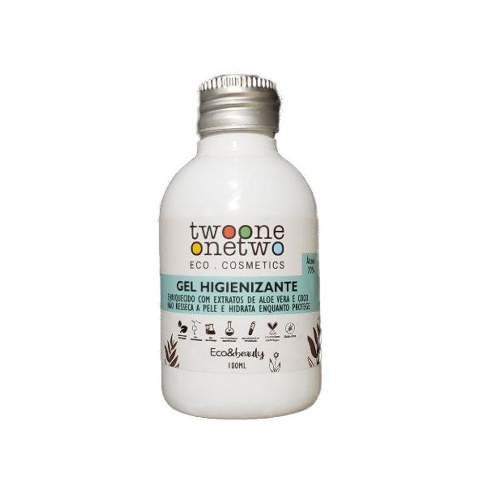 Twoone Onetwo Álcool Gel Higienizante Para Mãos Eco & Beauty 100ml
