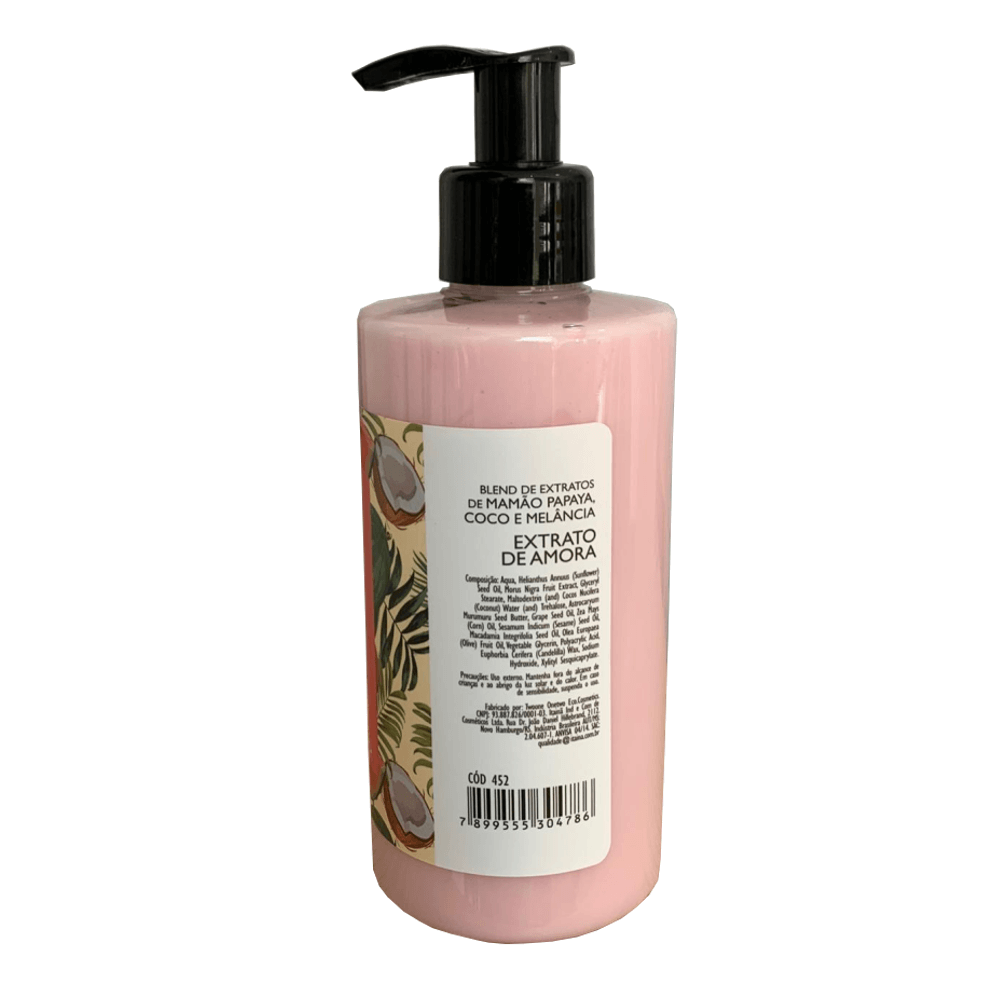 Twoone Onetwo Hidratante Corporal Natural Vegano Amora 250g