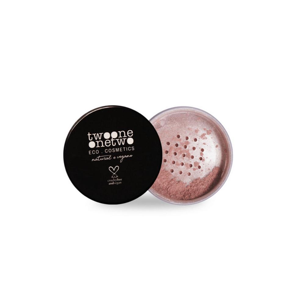 Twoone Onetwo Iluminador Facial Natural e Vegano Pearl 9g