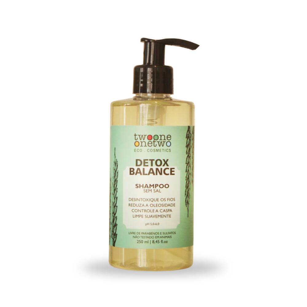 Twoone Onetwo Shampoo Detox Balance Alcaçus e Algas Vermelhas 250ml