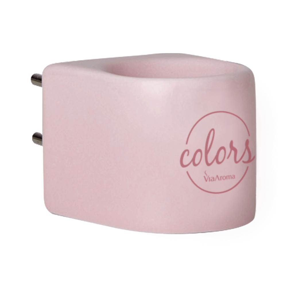 Via Aroma Aromatizador Elétrico Rosa Colors de Porcelana Bivolt