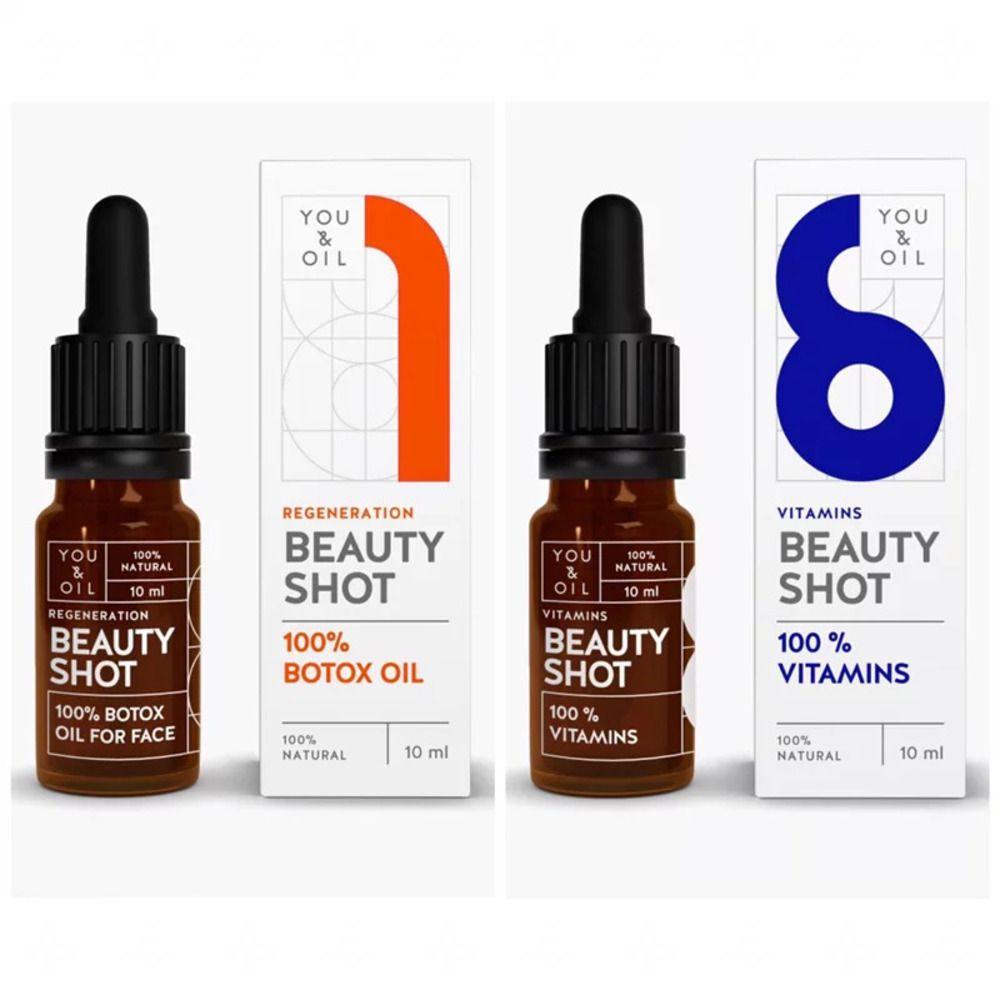 You & Oil Kit 2 Séruns Faciais Naturais Regenerador + Vitamínico