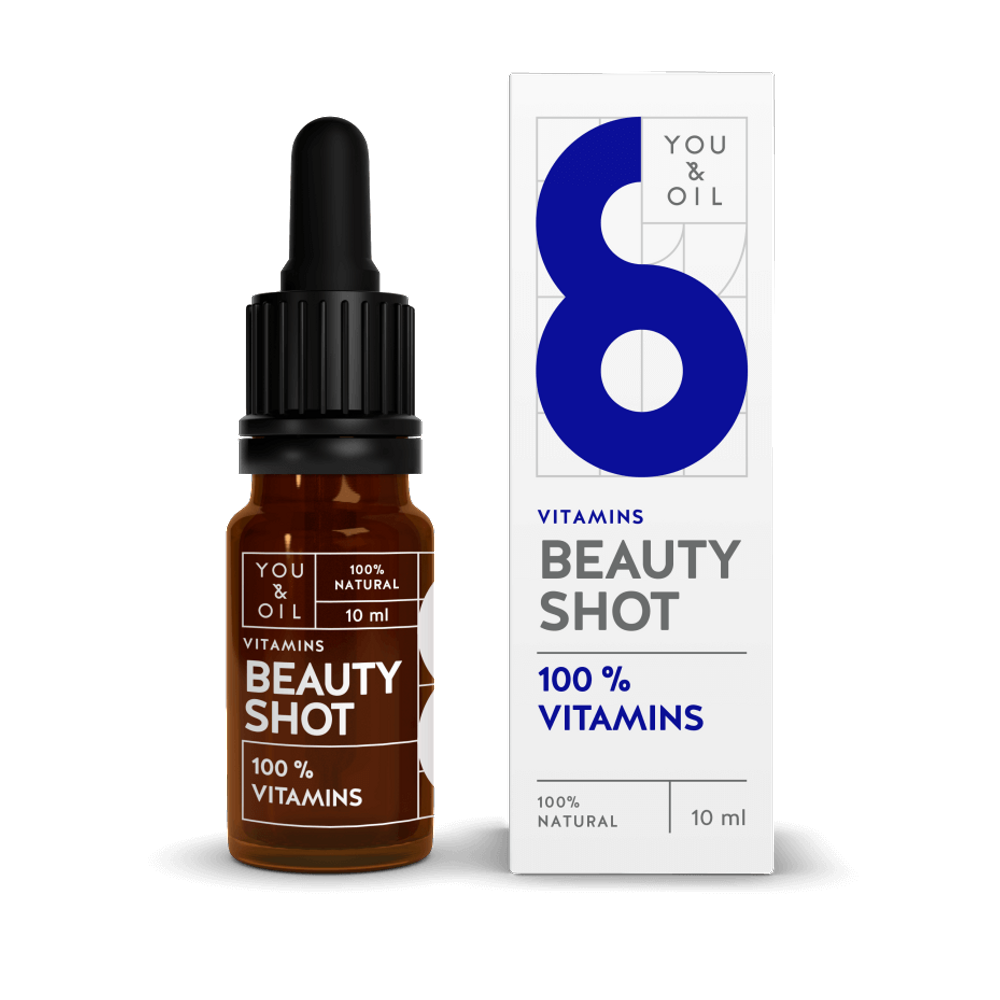 You & Oil  Sérum Facial Vitamínico Beauty Shot 10ml
