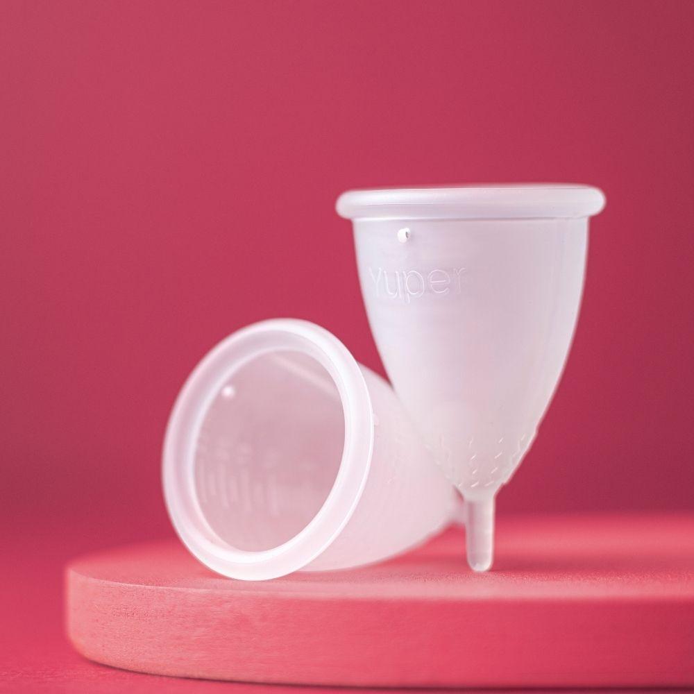 Yuper Coletor Menstrual S até 19 anos Sem Pigmento 1un