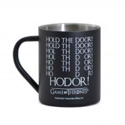 Caneca De Aço 400ml Hodor - Game Of Thrones