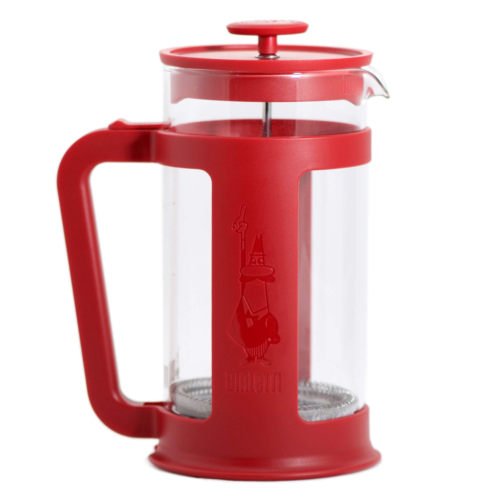Cafeteira French Press Smart - 1L Vermelha - Bialetti