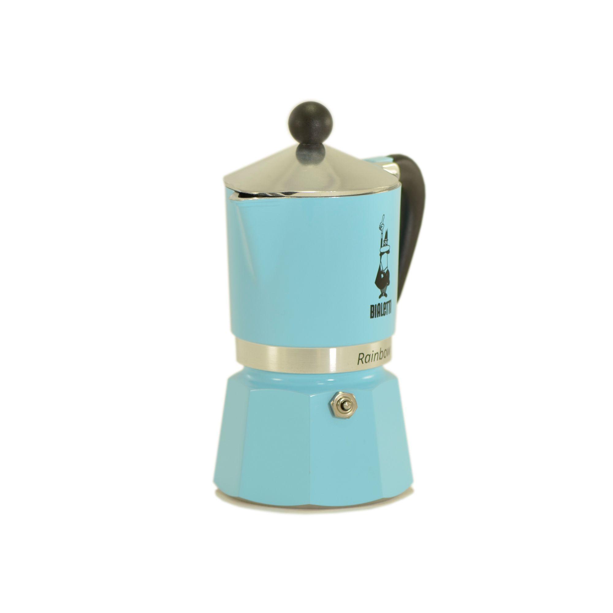 Cafeteira Rainbow Moka Azul - Bialetti