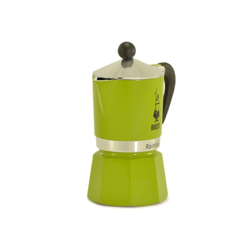 Cafeteira Rainbow Moka - Verde - Bialetti