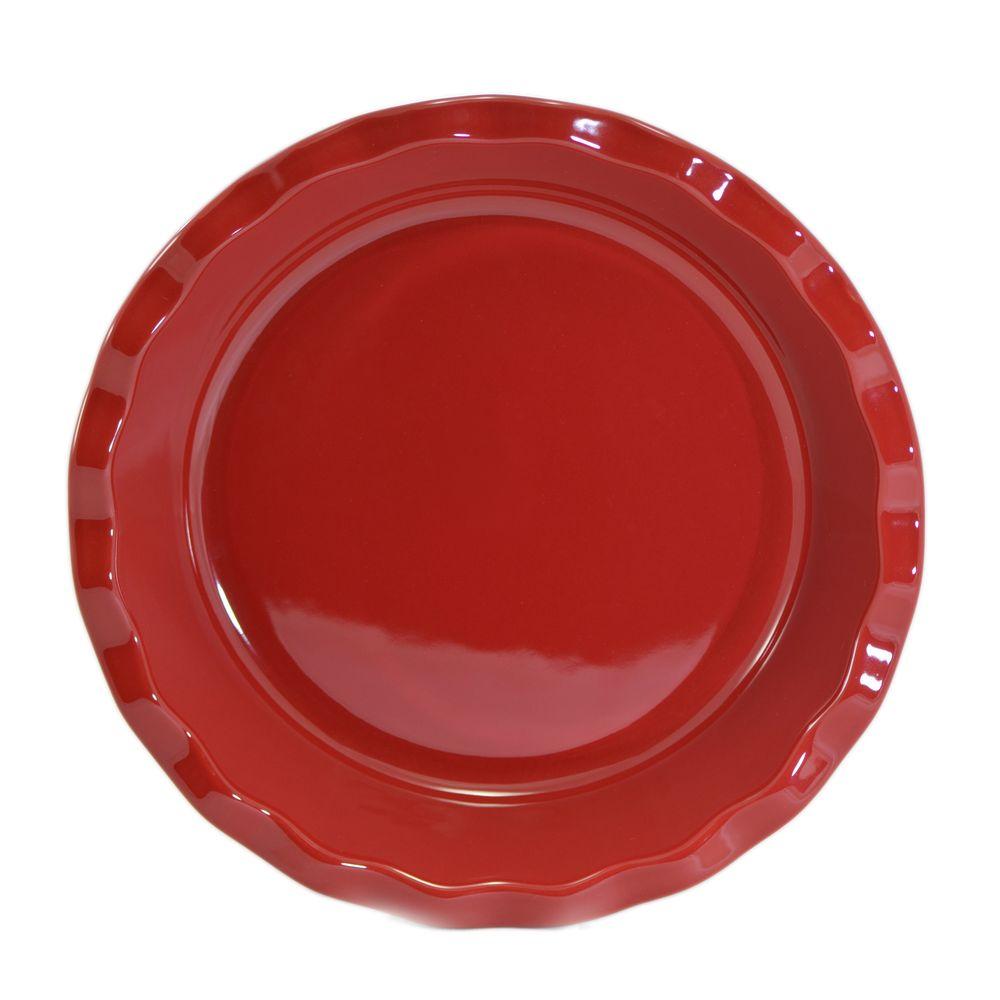 Travessa Red com Borda Vermelho -  Emile Henry