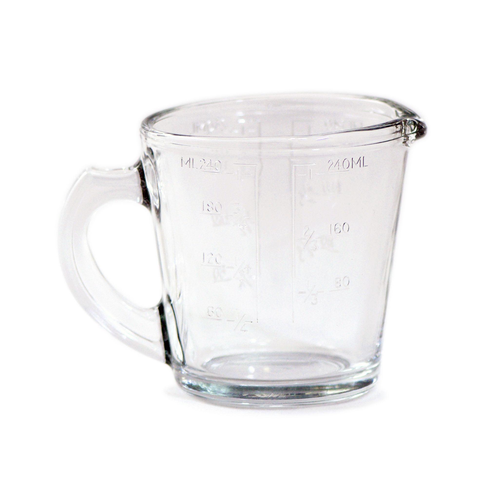 Jarra medidora de vidro 240 ml - Bormioli Rocco