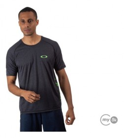Camiseta Treino Oakley Dynamic Breathe Blackout O-hydrolix