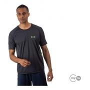 Camiseta Treino Oakley Dynamic Breathe Blackout O-hydrolix