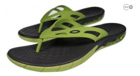 Chinelo Sandália Oakley Killer Point Wild Lime