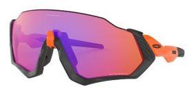 Óculos Oakley Flight Jacket Neon Orange Prizm Trail