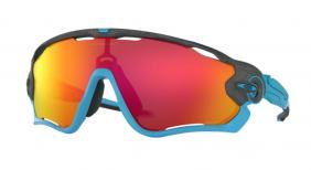Óculos Oakley Jawbreaker Aero Grid Grey Prizm Ruby