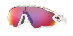 Óculos Oakley Jawbreaker Matte White Prizm Road