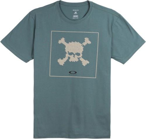 Camisa Masculina Oakley Digi Skull Coleção Caveira Original