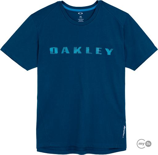 Camiseta Maculina Bark Pattern Top Legion Blue