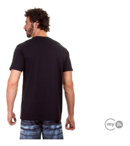Camiseta Oakley Bark New Tee Blackout Preta