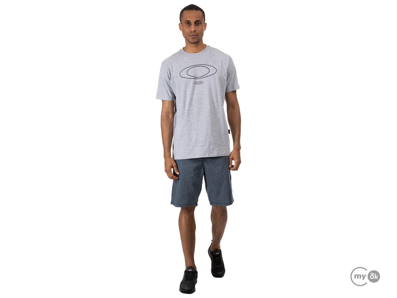 Camiseta Oakley Blur Storm Heather Tee Stone Gray