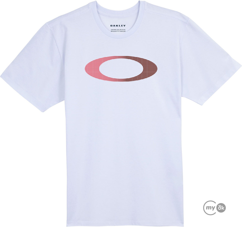 Camiseta Oakley Blur Storm Heather Tee White