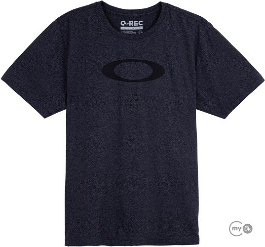 Camiseta Oakley  O-Rec Ellipse Tee Black Out