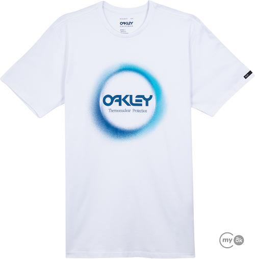 Camiseta Oakley Thermonuclear Aurea Tee White