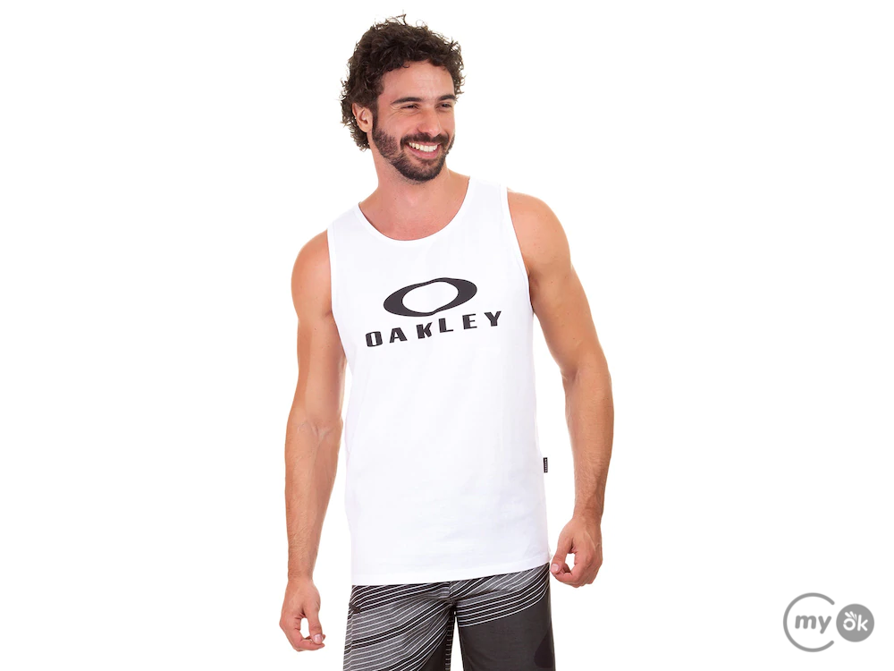 Camiseta Regata Bark Tank Branca