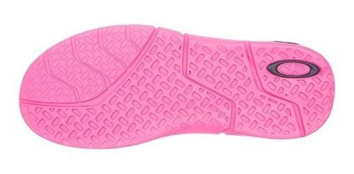 Chinelo Oakley Rest 2.0 Neon Pink
